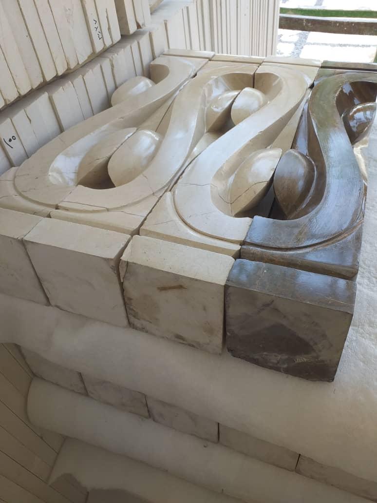 Irainian natural stone Railing