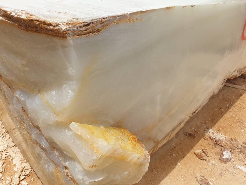 White Onyx Block O5