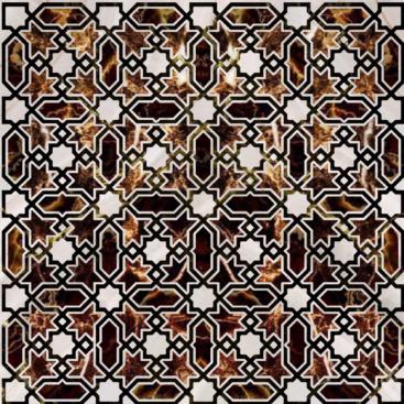 Engineered stone Persian Motive IM 0
